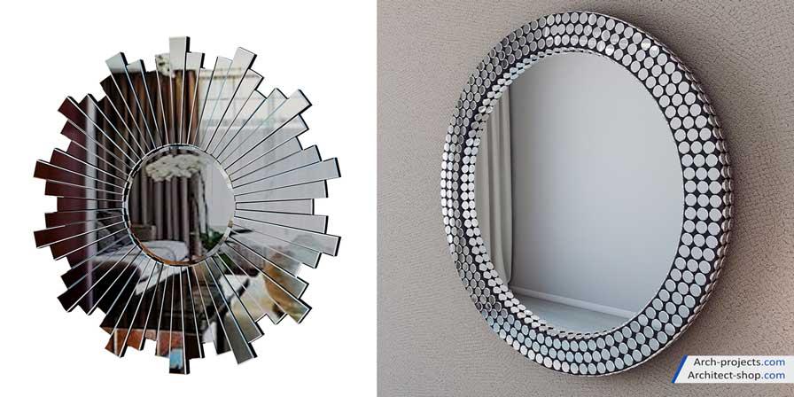 دانلود رایگان مدل سه بعدی آینه مدرن