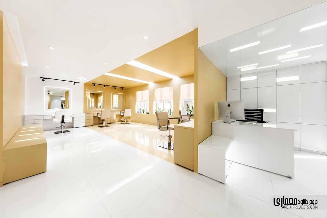 طراحی سالن زیبایی شکرنیا