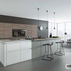 30 آشپزخانه خاکستری و سفید که ترکیب چشم نوازی دارند