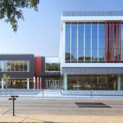 طراحی کتابخانه عمومی Cedar Rapids – آمریکا