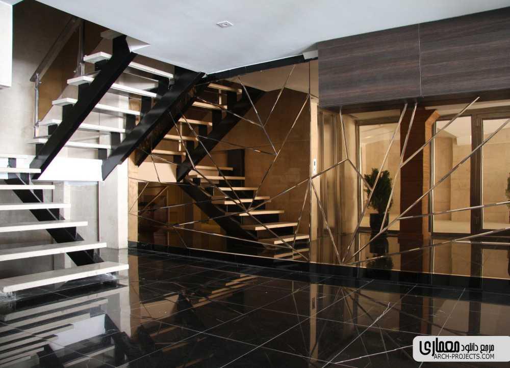 طراحی آپارتمان مسکونی دانیال