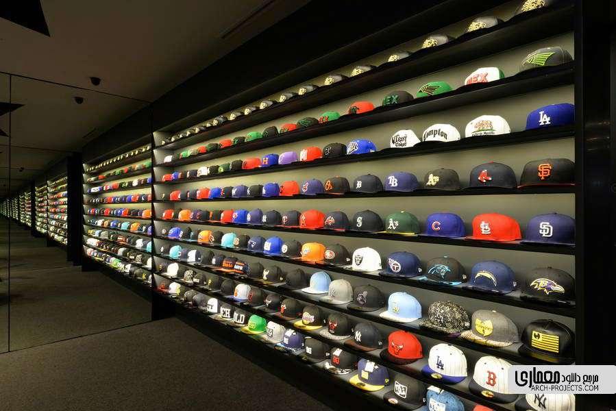 دکوراسیون فروشگاه کفش و کلاه