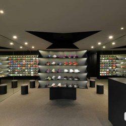طراحی فروشگاه کفش و کلاه LACES – مکزیک