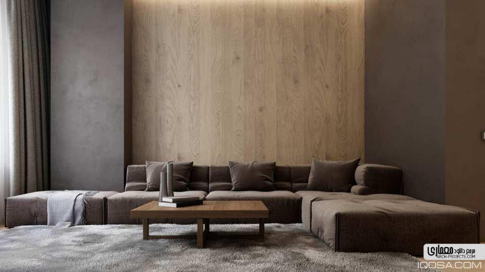 دکوراسیون داخلی آپارتمان 50 متری
