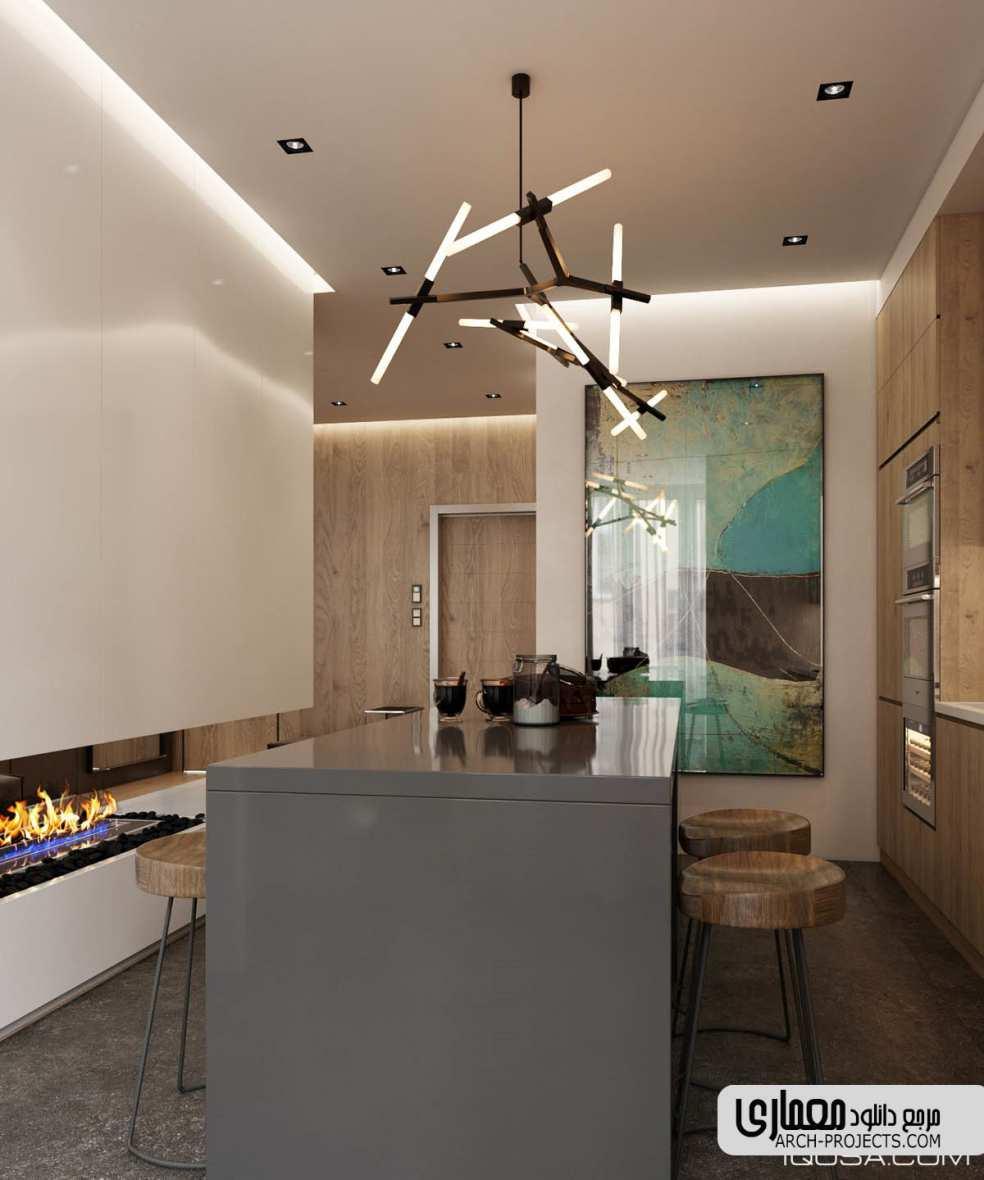 دکوراسیون داخلی خانه 50 متری
