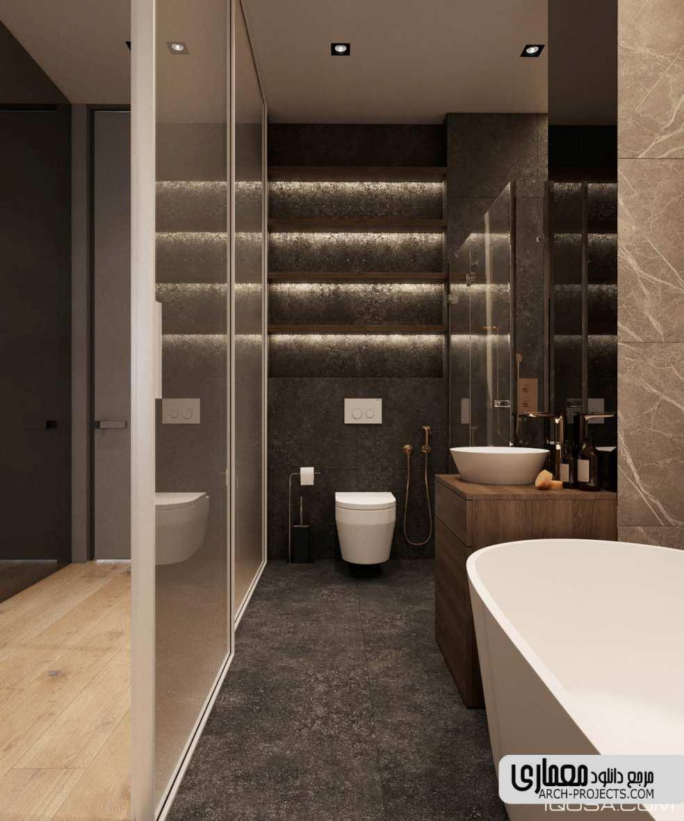 دکوراسیون داخلی حمام کوچک