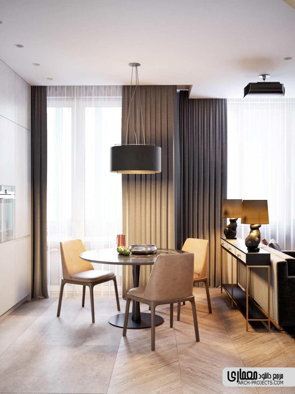 طراحی خانه با مساحت کم