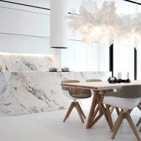 مرمر در طراحی آشپزخانه