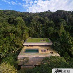 طراحی خانه جنگلی – برزیل