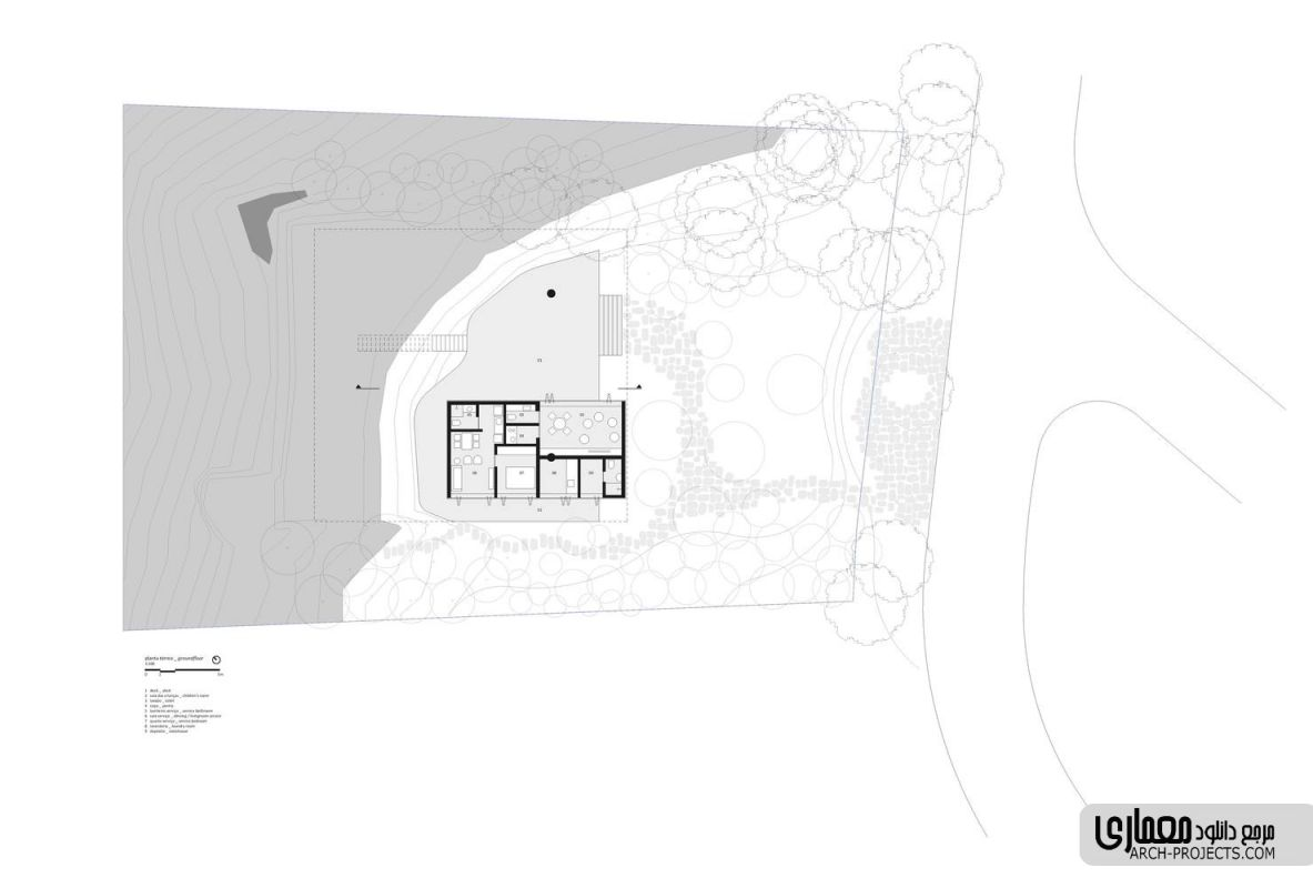 معماری خانه جنگلی