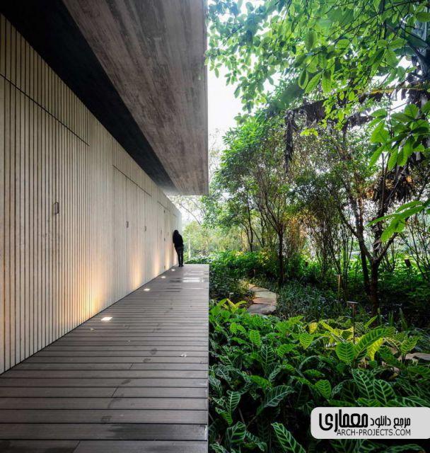 طراحی خانه جنگلی