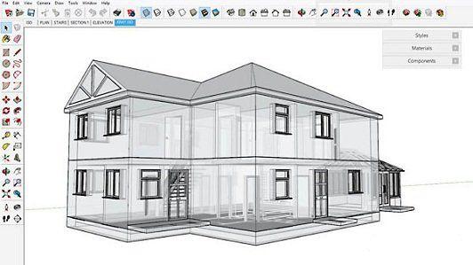 آموزش SketchUp در معماری