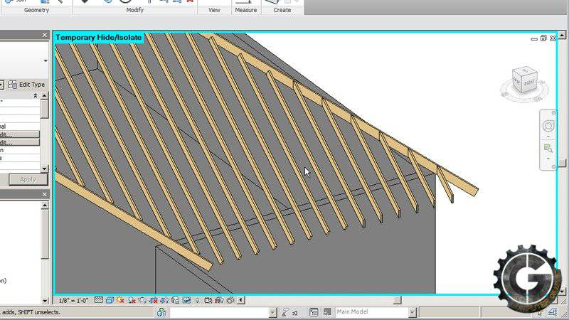 آموزش طراحی سقف در رویت