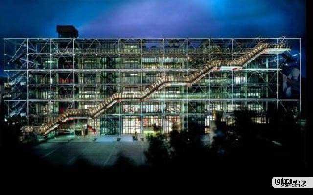 آثار معماری ریچارد راجرز