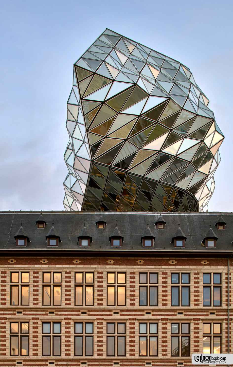 طراحی ساختمان بندر آنتورپ