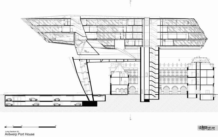 ساختمان بندر آنتورپ