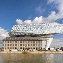 طراحی ساختمان بندر آنتورپ _ بلژیک