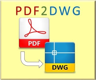 نرم افزار تبدیل pdf به اتوکد