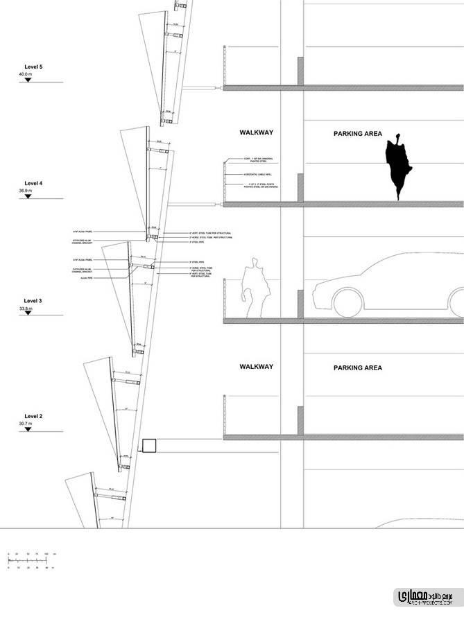 پلان های پروژه پارکینگ #6