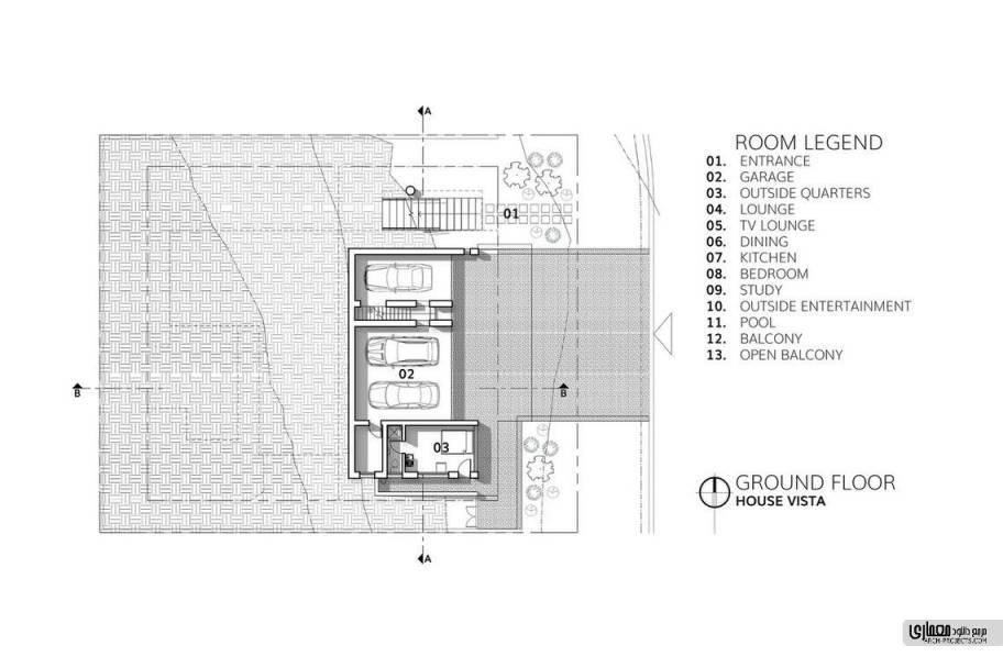 پلان های طراحی ویلا