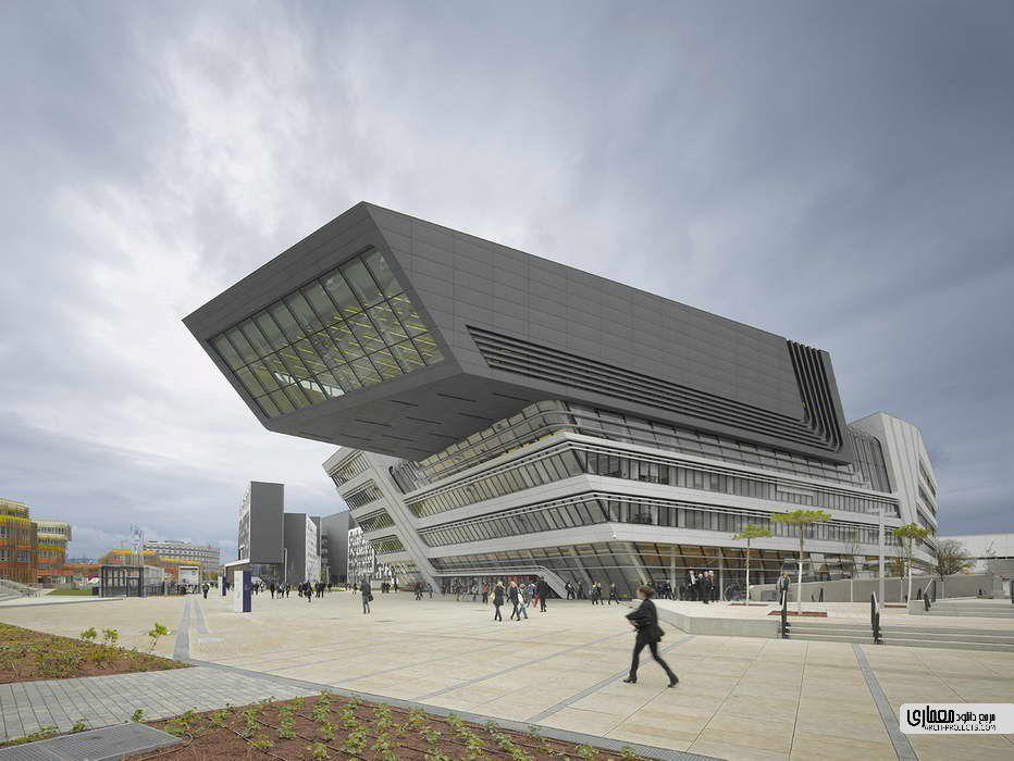 کتابخانه و مرکز آموزش دانشگاه اقتصاد وین
