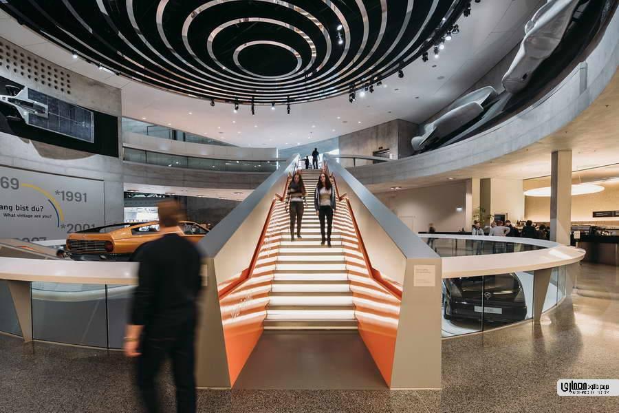طراحی موزه مرسدس بنز