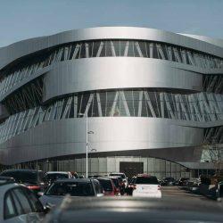 طراحی موزه مرسدس بنز – آلمان