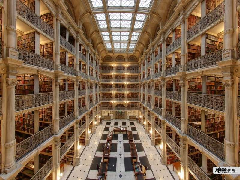 کتابخانه های شاخص