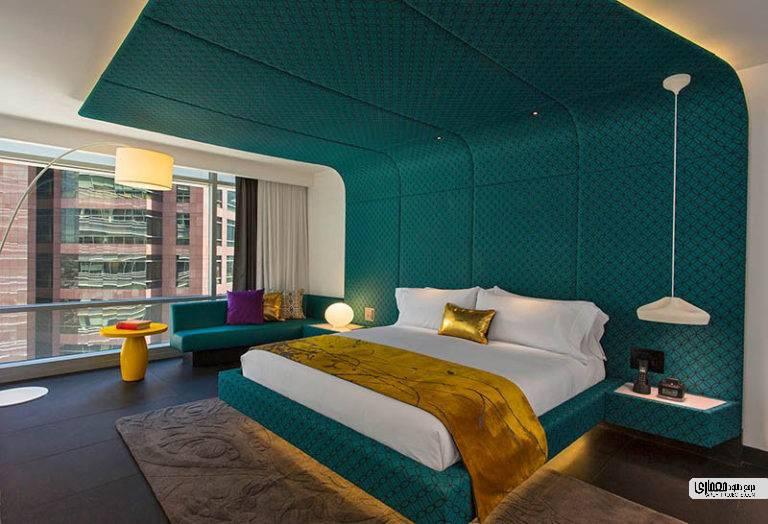 نمونه اتاق هتل