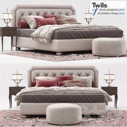 دانلود مدل سه بعدی تخت خواب – بخش 2