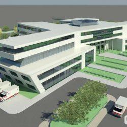 دانلود 2 پروژه طراحی ساختمان بیمارستان