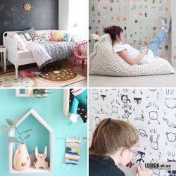 ایده های مدرن طراحی اتاق خواب دخترانه