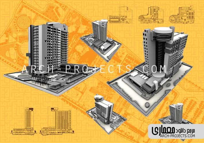 پوستر معماری هتل