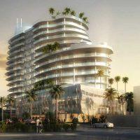 پلان معماری هتل