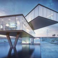 آموزش شبیه سازی معماری در مایا و وی ری