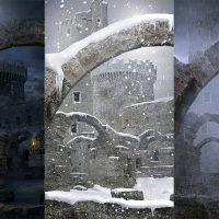 آموزش پست پروداکشن هوای بارانی و برفی