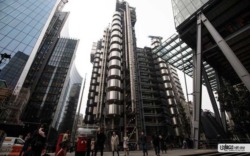 برج اداری لندن - Lloyd's of London