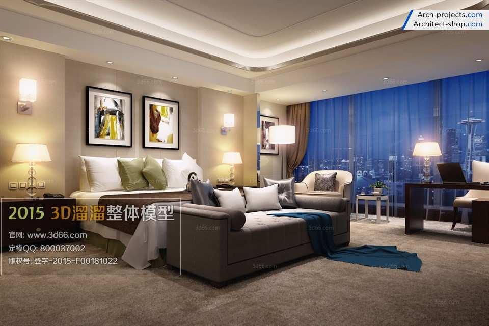 طراحی سوئیت هتل