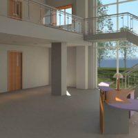 آموزش شبیه سازی ریل تایم معماری