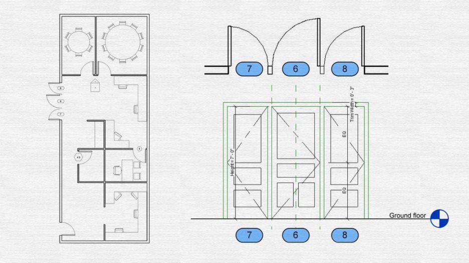آموزش طراحی پلان در با مشخصات کامل در رویت