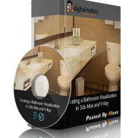 آموزش طراحی حمام در 3ds Max و V-Ray