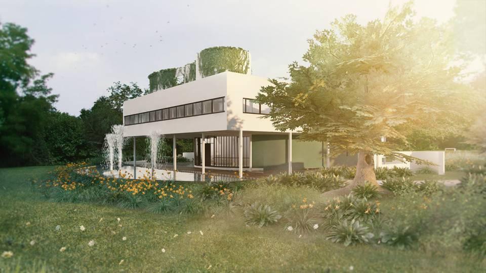 آموزش ایجاد پوشش گیاهی برای معماری :