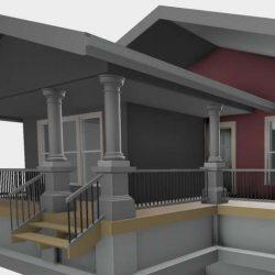 آموزش طراحی خانه در Revit Architecture