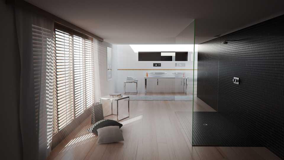آموزش طراحی صحنه داخلی در Cinema 4D