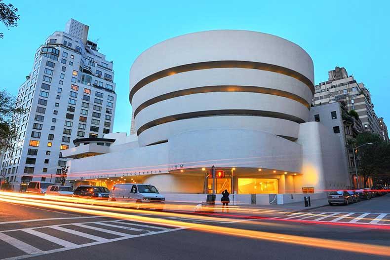 طراحی موزه گوگنهایم نیویورک