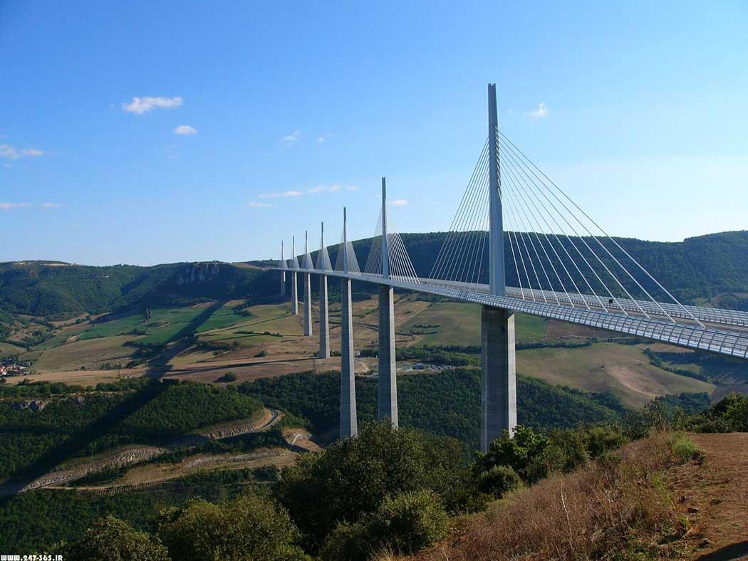 طراحی پل میلو فرانسه
