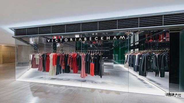 طراحی فروشگاه ویکتوریا بکهام لندن