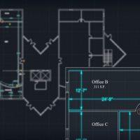 آموزش حاشیه نویسی نقشه های معماری در اتوکد