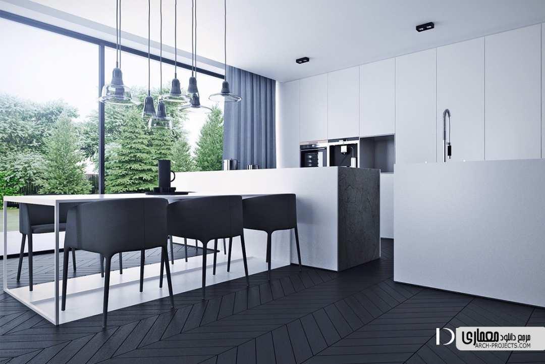 طراحی آشپزخانه مینیمال
