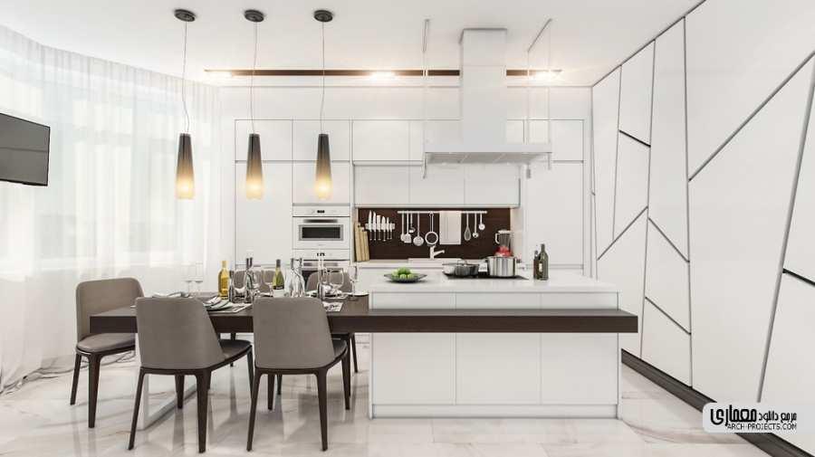 ایده طراحی برای آشپزخانه